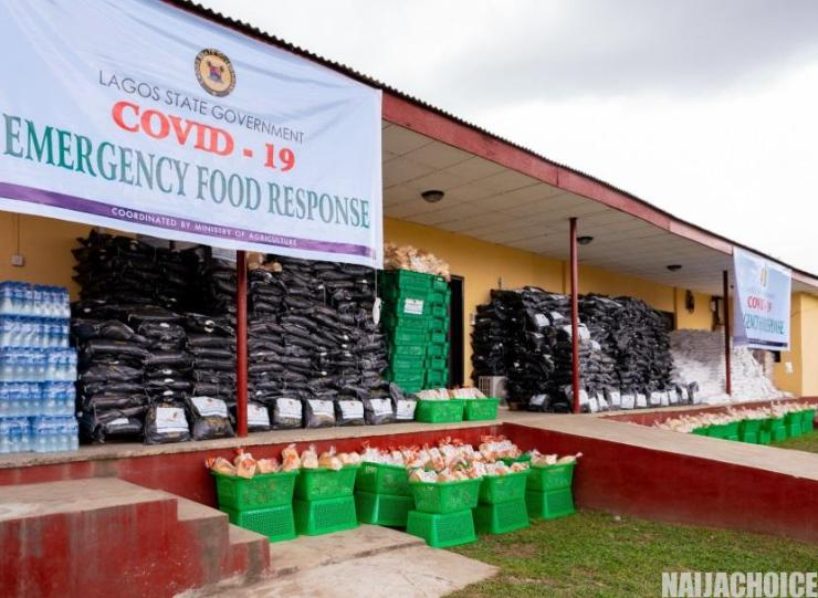 See What A Man Was Given To Share To 120 Homes As Coronavirus Relief Package