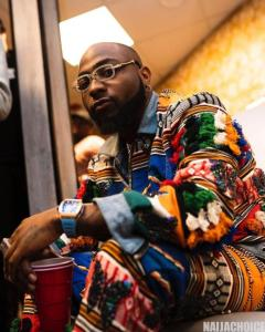 Graphics Designer reacts hysterically after Davido posted his work (Photos)