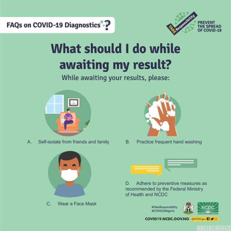 How COVID-19 Tests Are Carried Out: 12 Things  To Know - NCDC