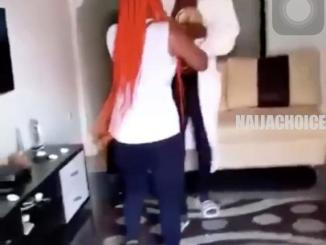 Lady & Her Friends Storm The House Of Her Cheating Boyfriend, Destroy His Car (Video)