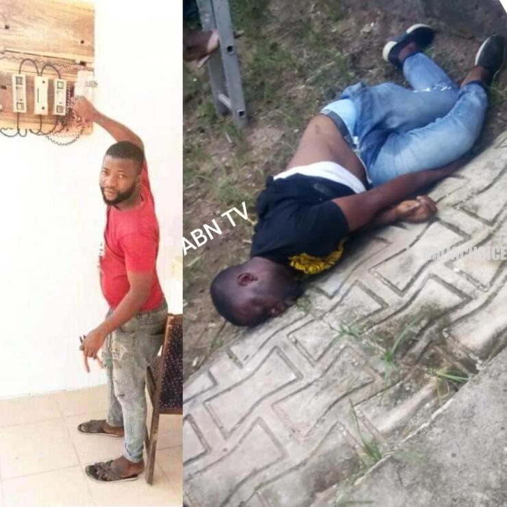 Man Electrocuted To Death In Aba Few Weeks To Traditional Wedding (Graphic Pics)