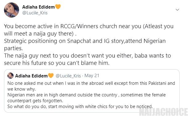 Nigerian men are in high demand abroad – Lady writes