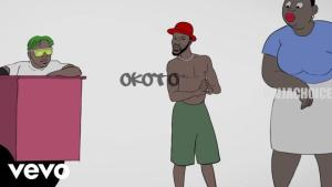 DOWNLOAD VIDEO: Broda Shaggi Ft. Zlatan – Okoto (Visualizer)