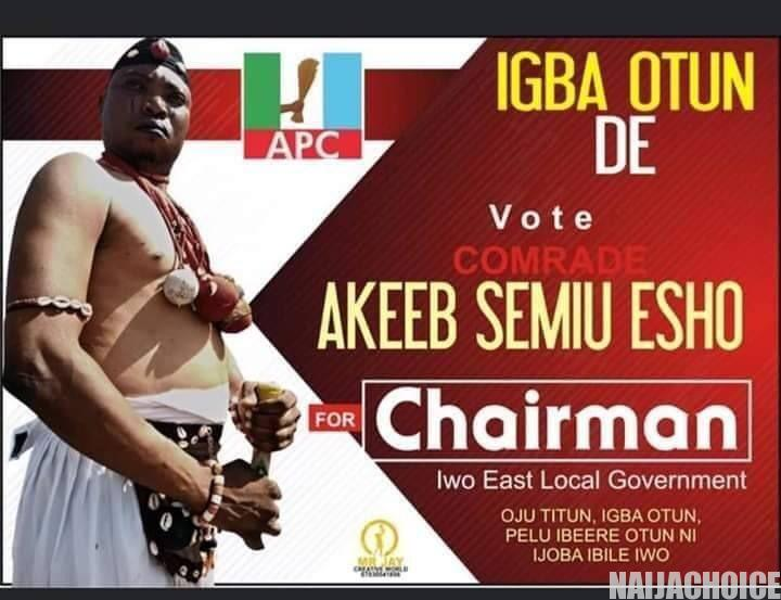 Joke: Native Doctor Contests For Local Government Chairman Position In Osun (Photo)