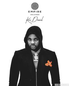 Kizz Daniel Is Now Family with EMPIRE Record Label