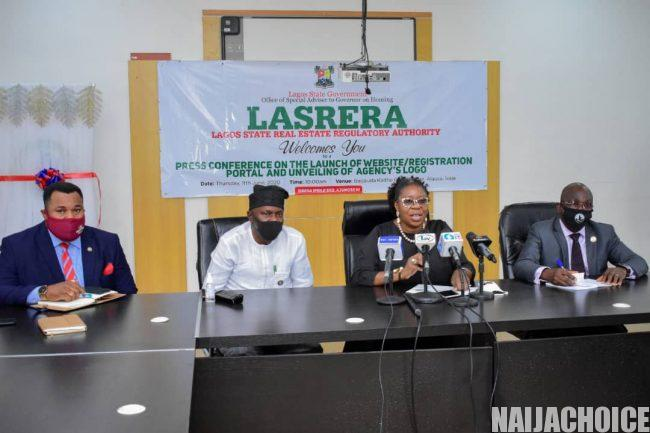LASRERA Launches Website, Registration Portal For Real Estate Practitioners