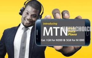 MTN New Data Plans!! Get 1GB For N200 & 5GB For N1000
