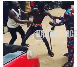 Yahoo boy ran mad after failing to renew his ritual due to Covid19 lockdown (video)