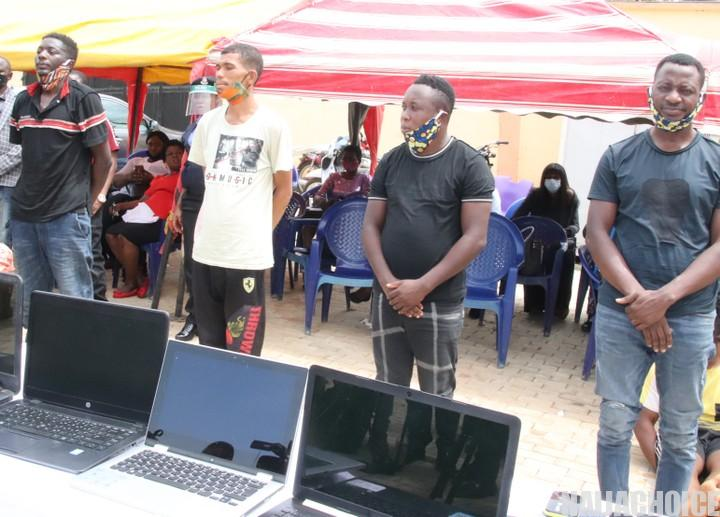 Yahoo Yahoo: Police Parade 24 Cybercrime Suspects, Including 1 Female (Pics)