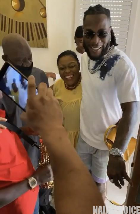 29th Birthday: Burna Boy's Mum Surprises Him  As He Clocks 29