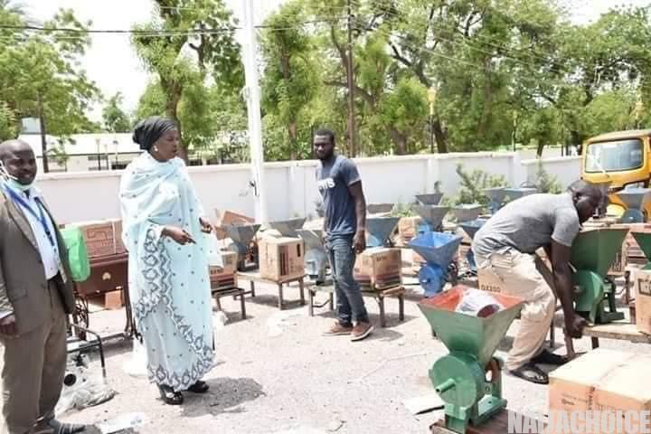 Checkout What A Female APC Lawmaker Distributed In Maiduguri (Photos)