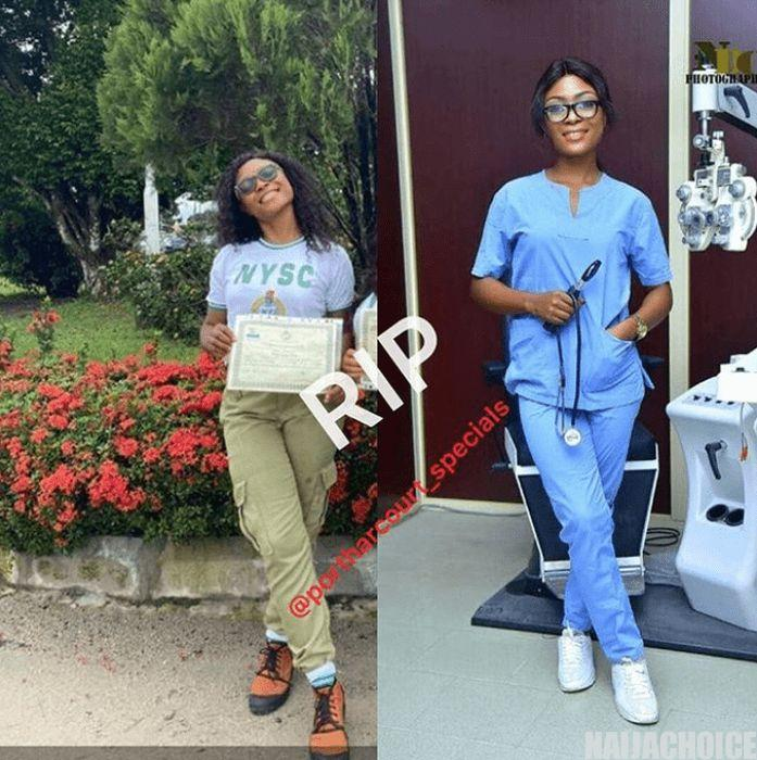 Doctor Who Just Passed Out From NYSC Dies In Accident In Rivers State (Photos)
