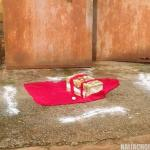 Juju Scare In Umuahia As Residents Wake Up To Mini Coffin, Red Material, Eggs (Pics)