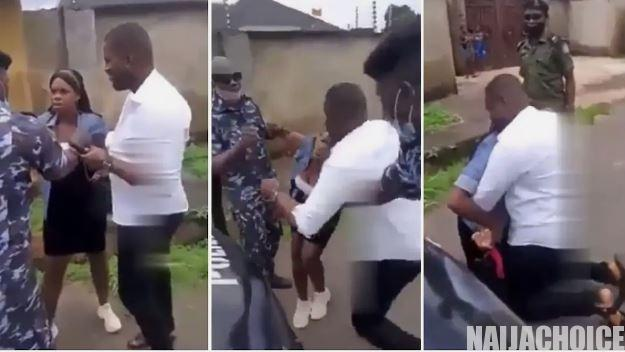 Man Stages Fake Arrest With SARS Officers So He Can Propose To His Girlfriend (Video)