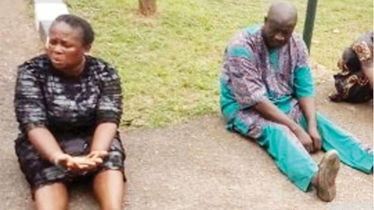Police Parade 'Abortion Nurse' And Pastor Who Sleeps With His Own Daughter In Ogun (Photo)