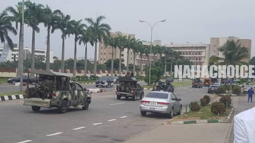 40 'Revolution Now' Protesters Arrested In Abuja  By Military Personnel