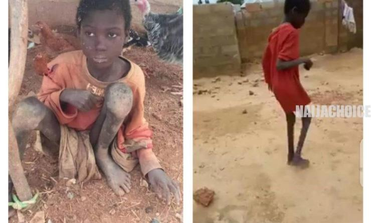 Father, Stepmum Chain 10-Year-Old Son To Animals For 2 Years In Kebbi (Graphic Pix)