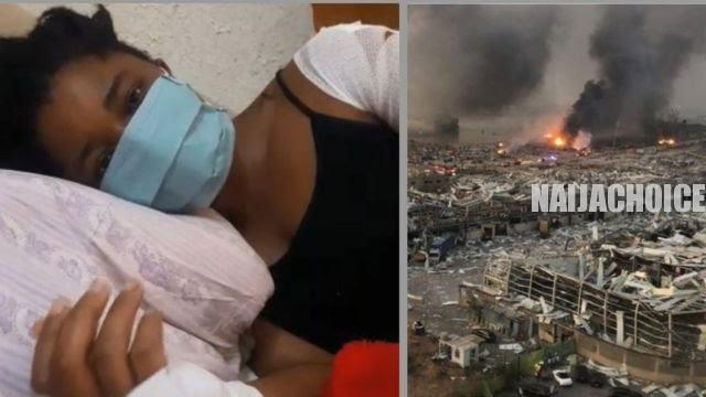 Nigerian Survivor Of Lebanon Explosion Calls For Help From Nigeria (Pics, Video)