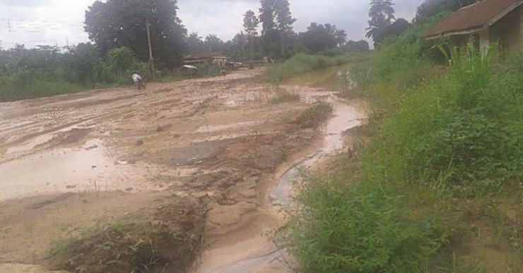 Roads In South - East Have Become Death Traps — Residents (Photo)