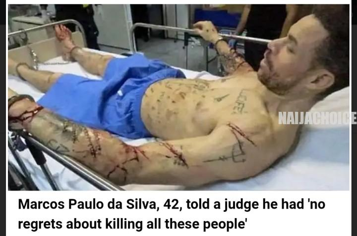 Brazilian Seria Killer 'Lucifer' Murdered 48 Inmates During His 25 Years In Jail