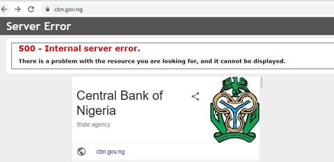 #EndSARS : Anonymous Hacks CBN Website