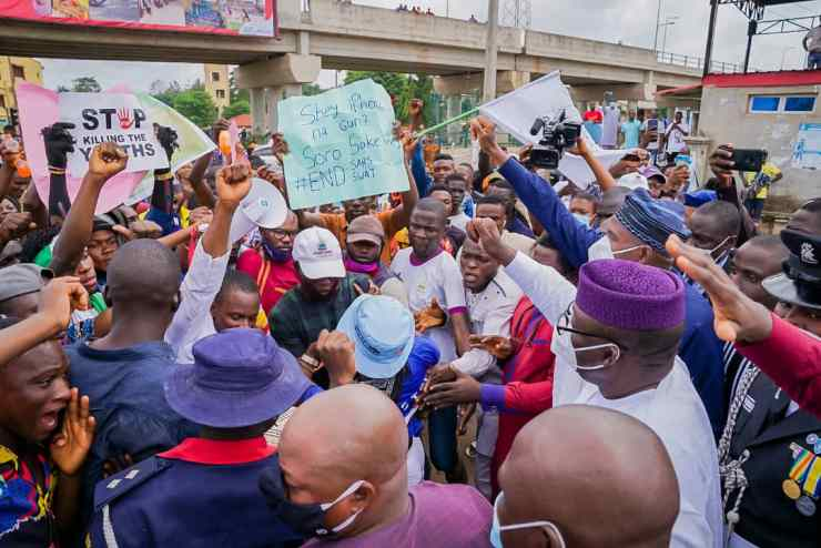 Fayemi Raises Panel On SARS Brutality , Right Abuse