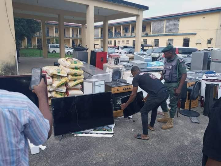 Police Arrest 10 Suspects In Akwa Ibom , Recover Looted Properties Worth Millions