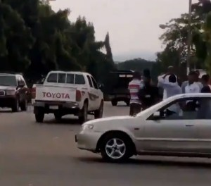 Thugs Teargassed As They Attempt To Loot Abuja Palliatives Warehouse