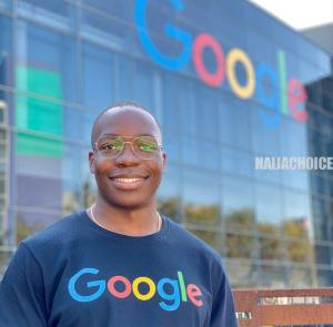 Young Nigerian Man Becomes Associate Manager At Google (Photo )