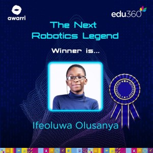 11- Year- Old Emerges Winner Of Union Bank Next Robotics Legend Competition