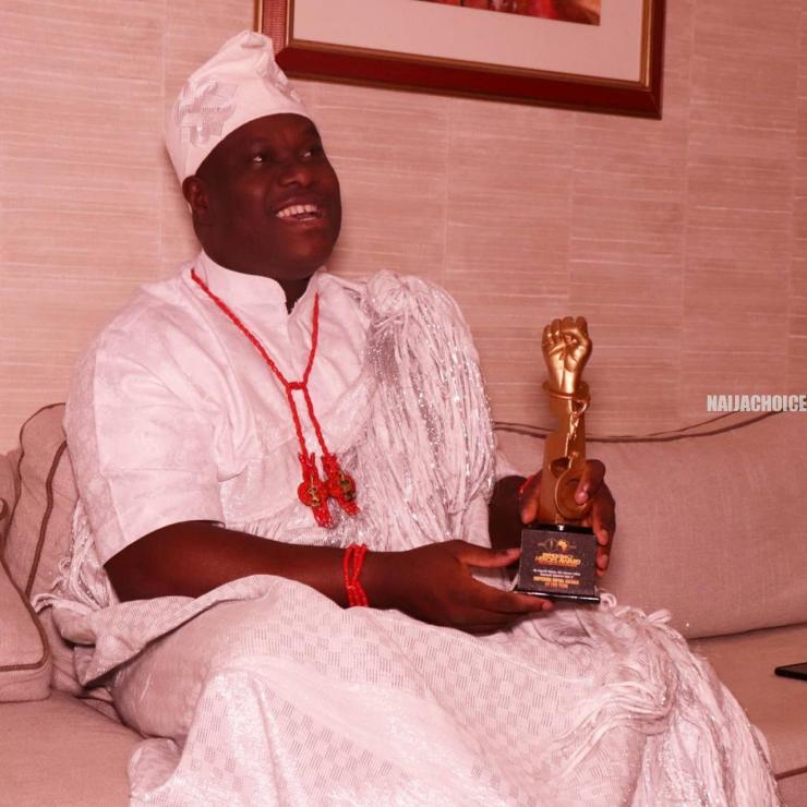 Ooni Of Ife Receives Imperial Royal Father Of The Year Awards In Abuja ( Photos)