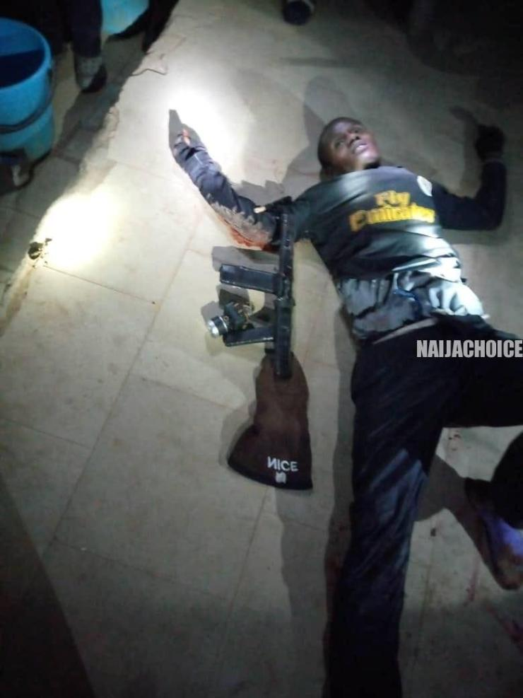 Police Kill Suspected Armed Robber In Katsina (Graphic Photo)