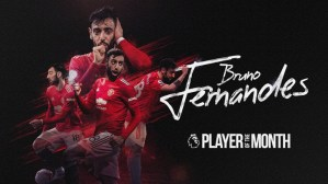 Bruno Fernandes Wins Premier League's Player Of The Month For December