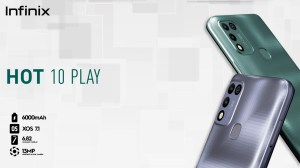 Infinix Unveils Hot 10 Play Device In Nigeria