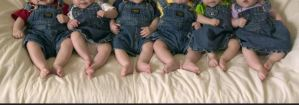 Nigerian Police Officer And His Wife Welcome Sextuplets After 7 Years Of Childlessness