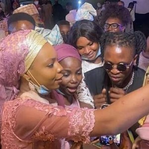 Video Of Laycon And Timi Dakolo Thrilling Guests At Dimeji Bankole's Wedding
