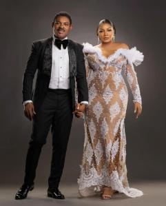 25th Wedding Anniversary: Omotola Shares Hot Photos With Her Pilot Husband