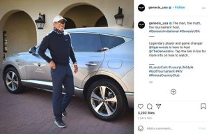 Features Of Genesis GV80: The Car That Saved Tiger Woods' Life (Photos)