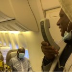 Air Peace CEO, Onyema On Board As Flight Attendant In Training (Photo, Video)
