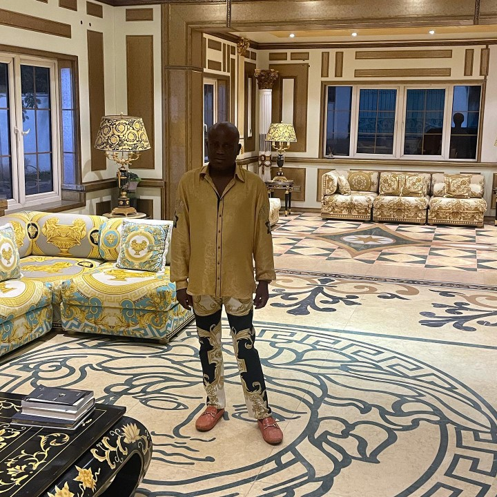 Billionaire, Terry Waya Poses In His Mansion To Celebrate His Birthday (Photos)