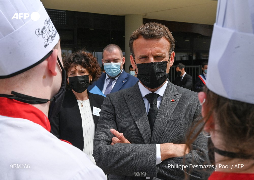 French President Macron Slapped During Crowd Walkabout (Video)