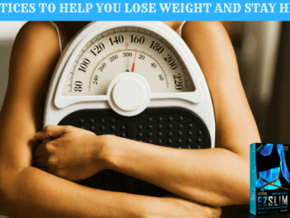 5 practices to help you lose weight and stay healthy