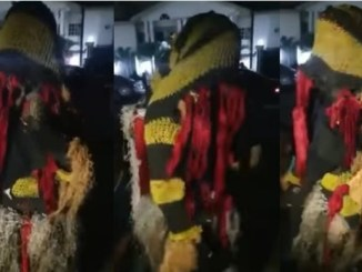 Masquerade seen preaching the gospel of Jesus Christ as he quotes Bible (Video)
