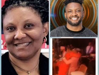 BBNaija: Cross' Mum Surprised Him At The Finale, Flew From Canada To Meet Him (Video)