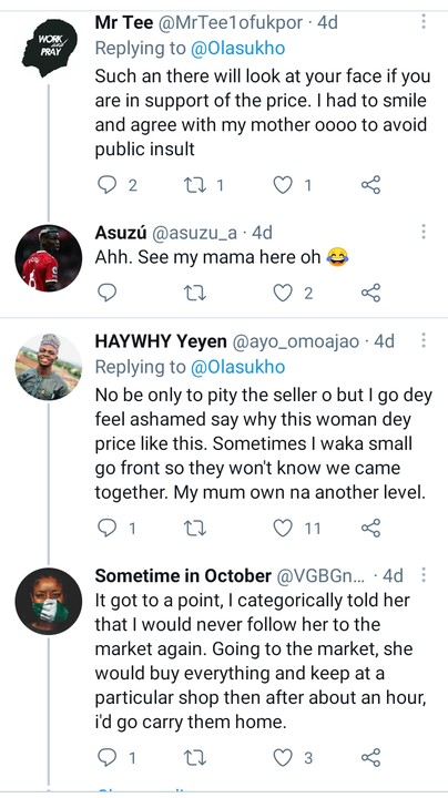 Has Your Mum Ever Priced Something In Your Presence & You Start To Pity The Seller?
