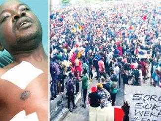 'I Will Join #EndSARS Protest Again Despite Being Shot By Soldiers Last Year' (Pix)