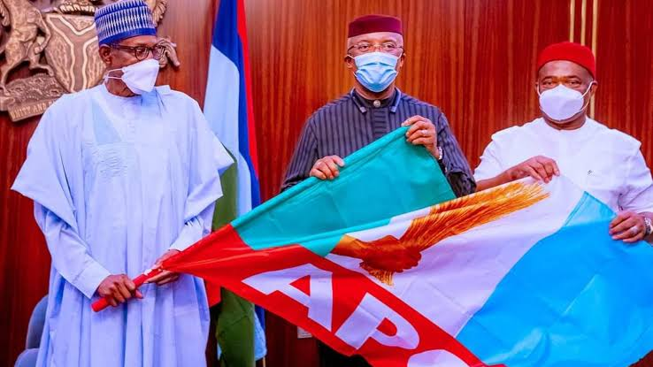 Why Anambra Deputy Governor Defected To APC - APGA (Photo)