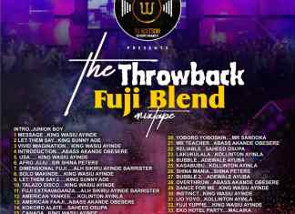 Dj Watson - Throwback Fuji Blend Mixtape