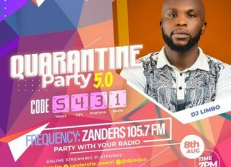 DJ Limbo – Quarantine Party 5.0 Mix 2020