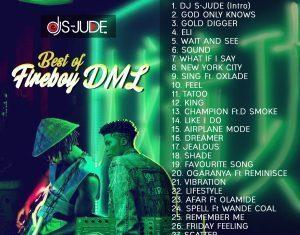 DJ S-Jude – Best Of Fireboy DML (Latest Fire Boy Songs)